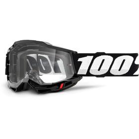100% Accuri Anti-Fog Goggles Gen2, black/clear